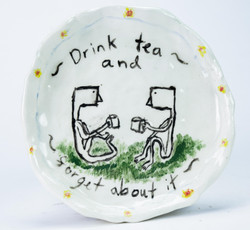 'Drink tea and forget about it'