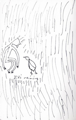 'It's raining'