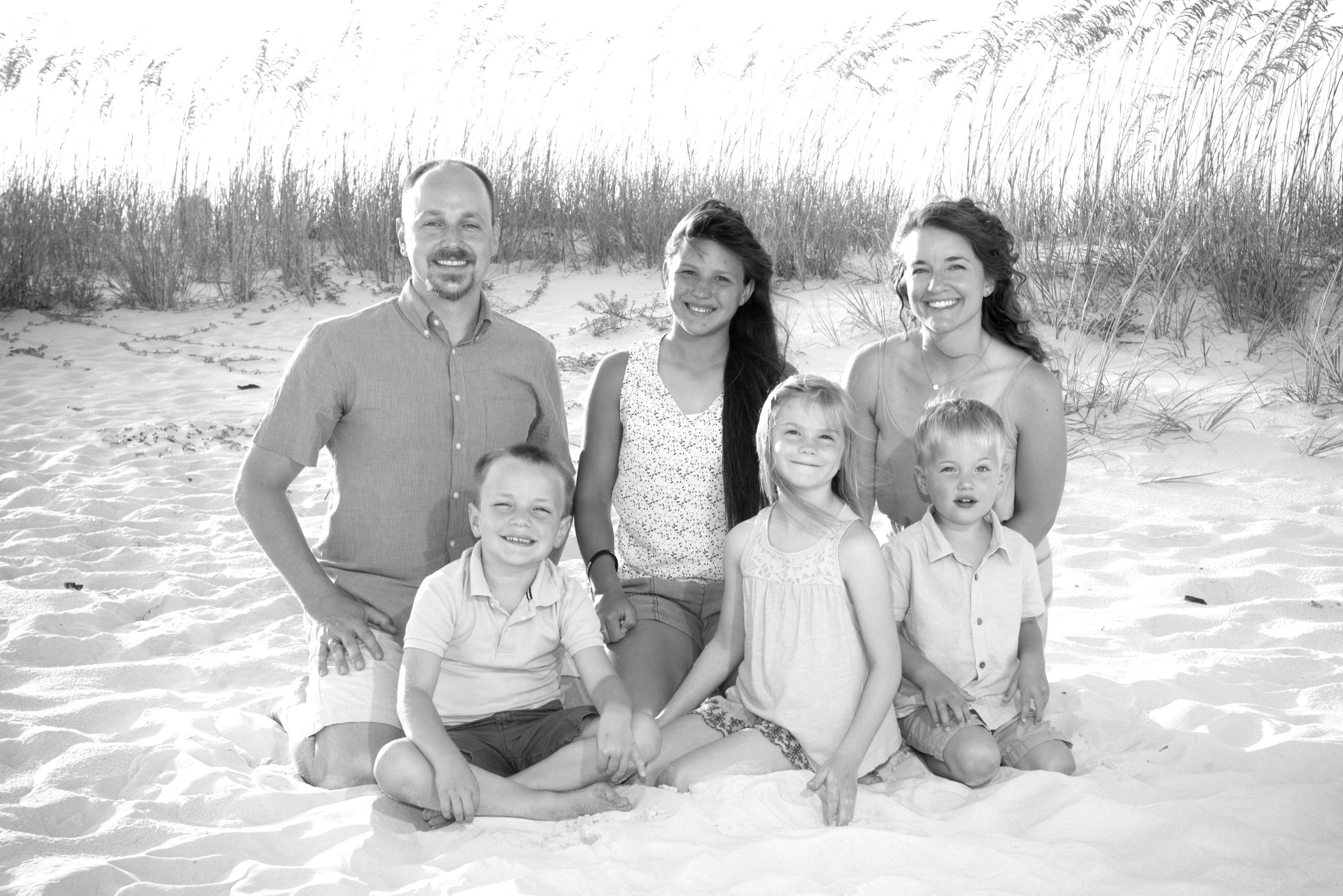 Jenny Townsend's family