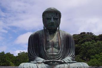 The Great Buddha of Kamakura,  (Kotoku-in Temple)