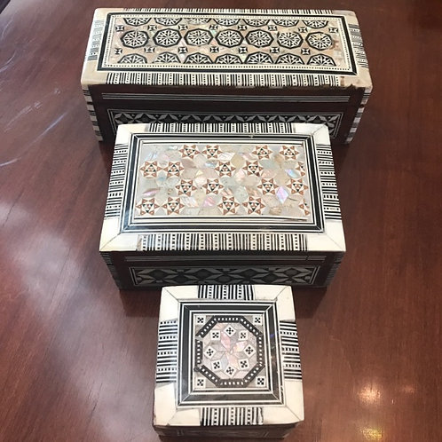 Inlay Mother of Pearl Box
