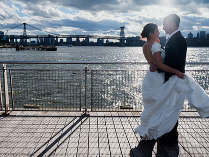 Distance Means So Little, When Someone Means So Much. Paris to NYC. Alicia & Brian's Love Story
