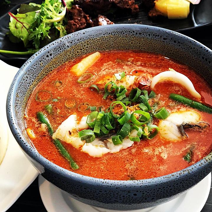Seafood Laksa Noodle 🌶