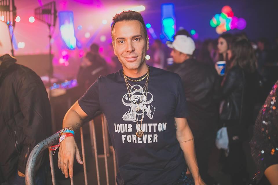 Gustavo Mazzafera na edição Castro - O Espetáculo