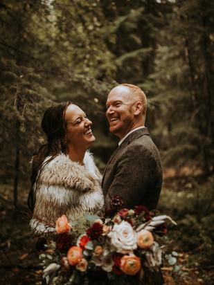 TAVIA + ZACH | MOODY AUTUMN WEDDING
