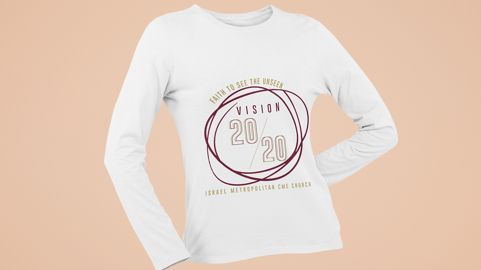 Adult Ladies Vision 20/20 T-Shirt