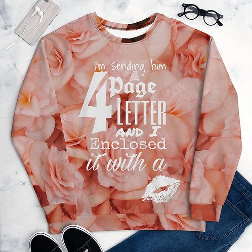 4 Page letter Sweatshirt