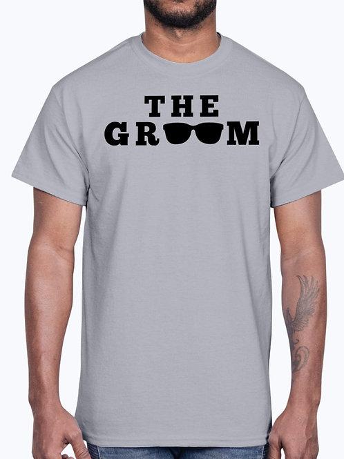 The Groom - Wedding and Bridal  - Cotton Tee