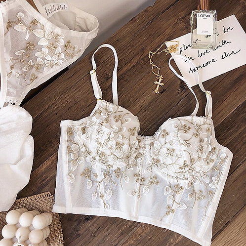 SekSee Bralette & Matching Panty
