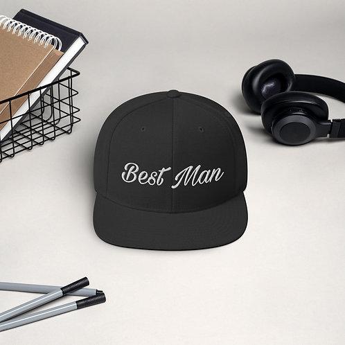 Best Man Snapback Cap