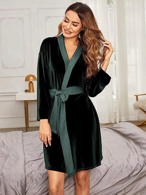 Lux Velour Robe