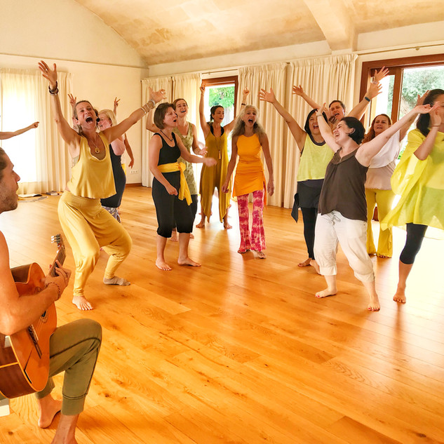 SuryaSoul Teacher Training DanceOfSoma, Mallorca 2019