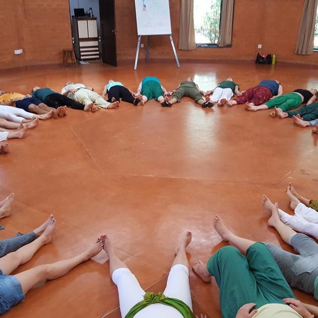 SuryaSoul Chakra Dance Retreat, Auroville India 2018