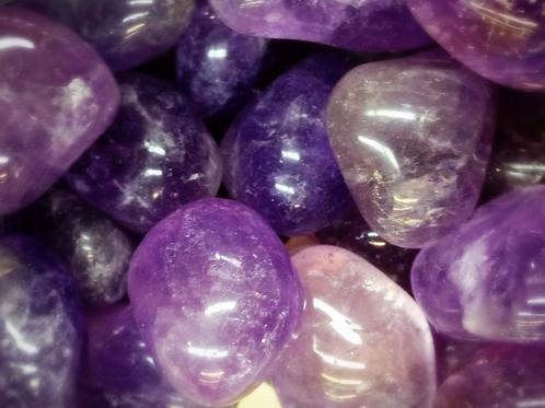 Amethyst -Tumbled Stone