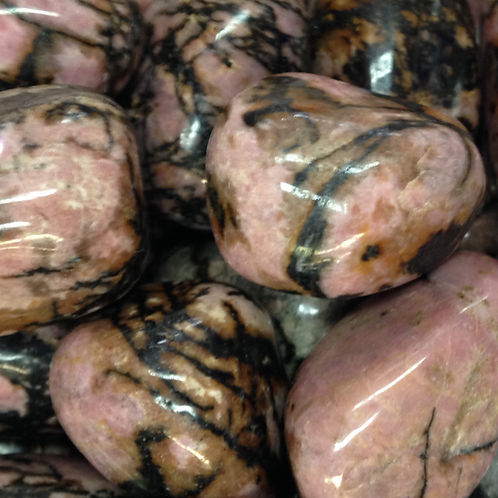 Rhodonite Tumble Stone