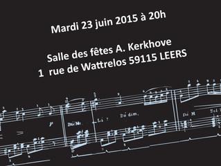 Concert de musique 2015