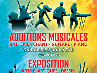 Nos auditions musicales