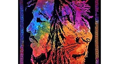 Bob Marley Lion Tapestry