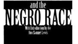 Christianity, Islam & the Negro Race