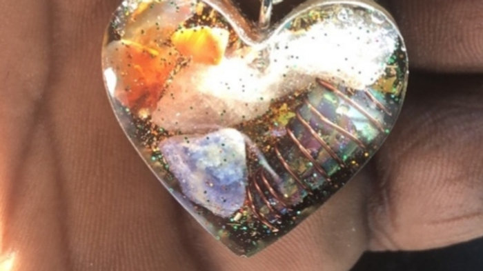 Luv Me Heart Orgone Necklace