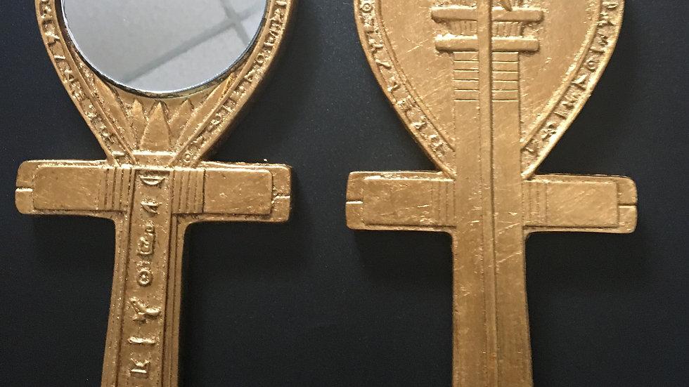 Scribe Egyptian Mirror
