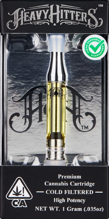 Heavy Hitters Cartridge Cherry Lime 1g (81.72% THC)