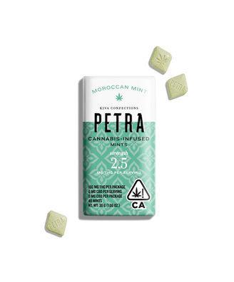 Kiva Petra Mints Moroccan Mint 100mgTHC
