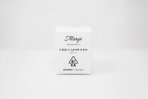 Mary's Medicinals Capsule CBD 5 pack 0.04mg THC 29.46mg CBD