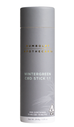 Humboldt Apothecary Wintergreen CBD Stick 1.05 oz