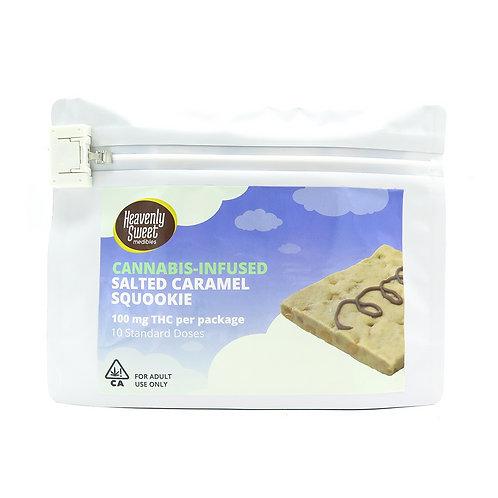 Heavenly Sweet Edible Squookie Salted Caramel 100mg