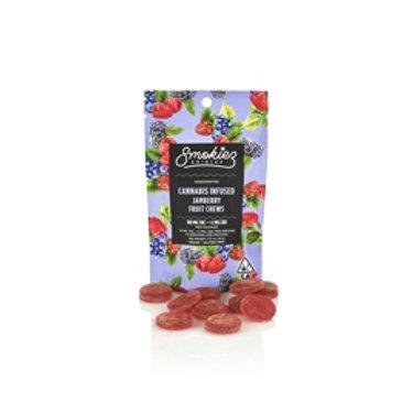Smokiez Fruit Chews Jamberry 100mgTHC