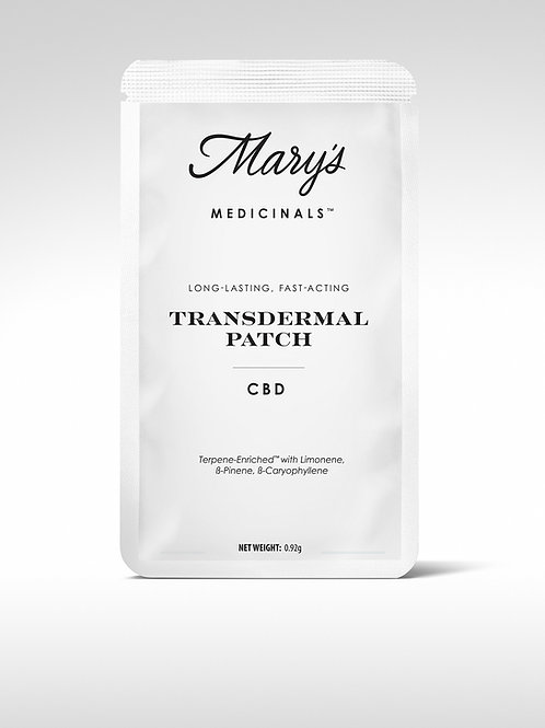 Mary's Medicinals CBD Transdermal Patch