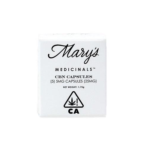 Mary's Medicinals Capsules CBN 5 pack 0.52mgTHC 1.78mgCBD 5.95mgCBN