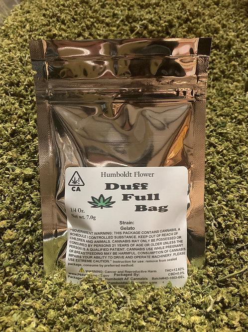 Duff Full Bag  Gelato (18.16% THC) 7g