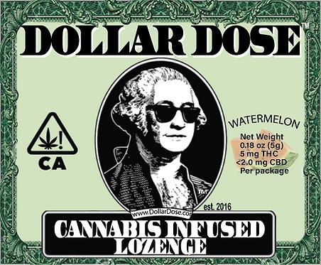 Dollar Dose Lozenge Watermelon Sativa 5mg