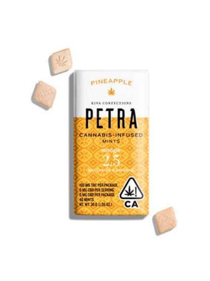 Kiva Petra Mints Pineapple 100mg THC