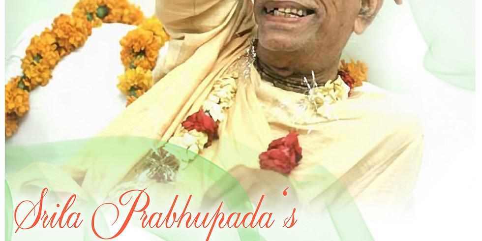 Vyasa Puja of A.C. Bhaktivedanta Swami, Srila Prabhupada!