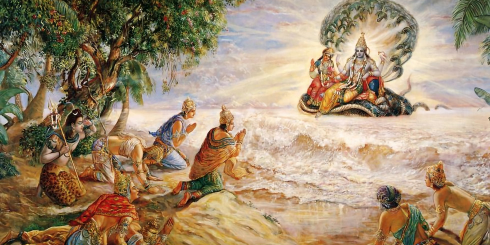 Srimad Bhagavatam Class with Padmanayana Das