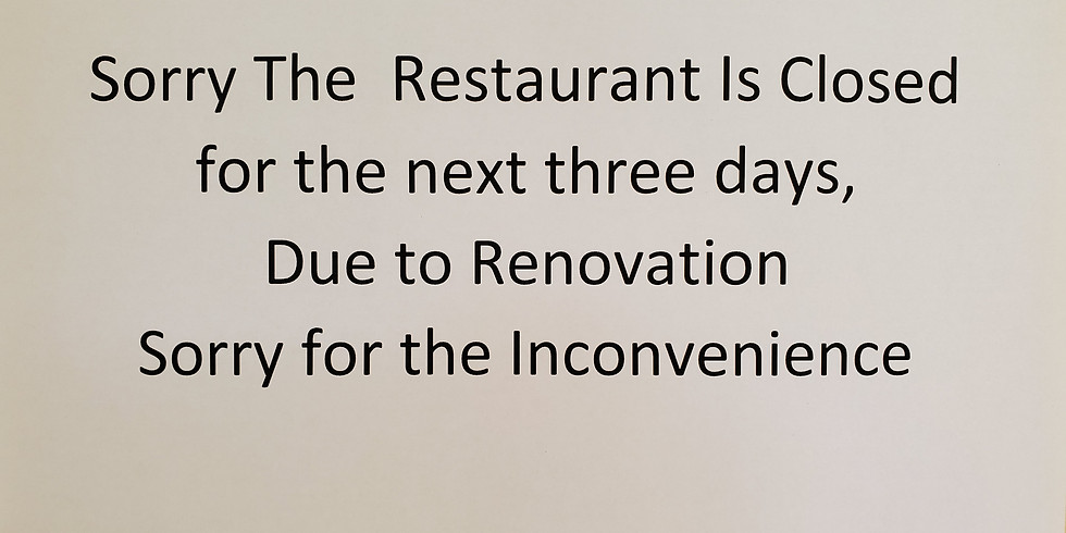 Renovations!