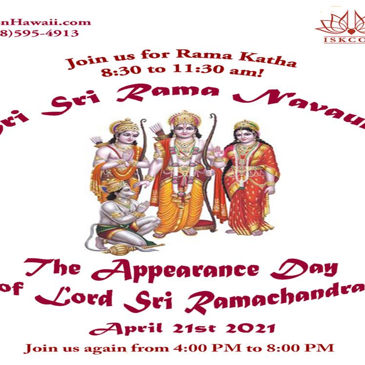 Ram Navaumi- The Appearance of Lord Ramachandra