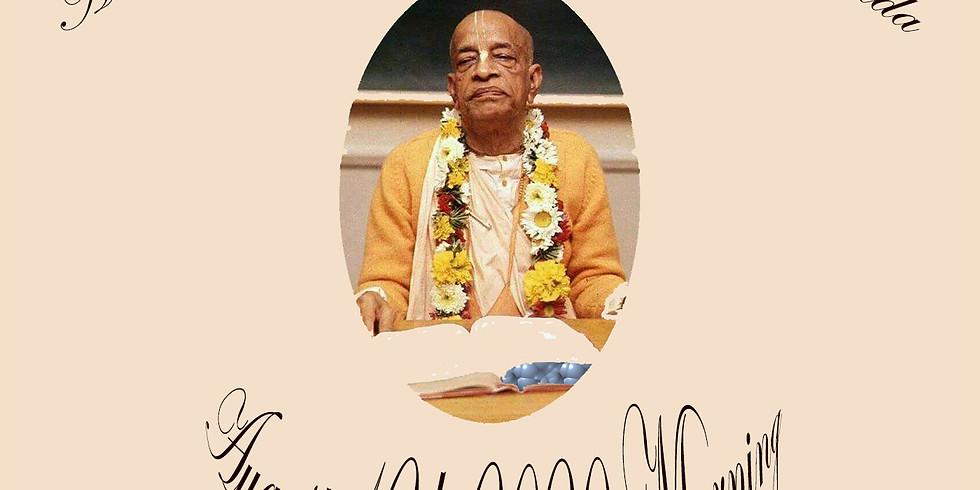 The Vyas Puja Celebration of our Beloved Founder Acharya, AC Bhaktivedanta Swami