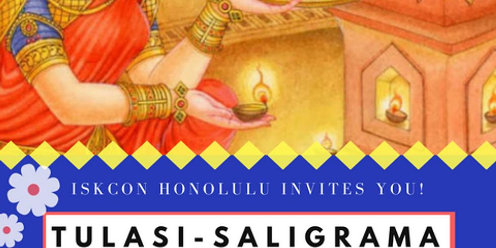Tulasi-Saligrama Vivaha Festival