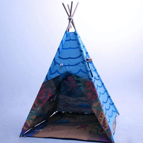 Cabana fundo do mar- forro duplo