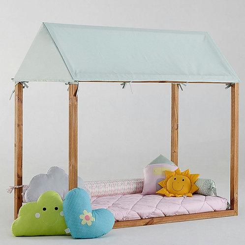 telhado para cama casinha