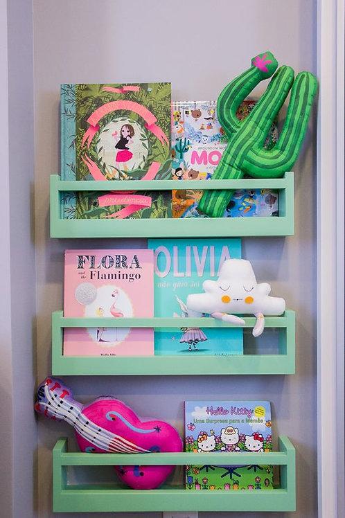 Porta Livros coloridos