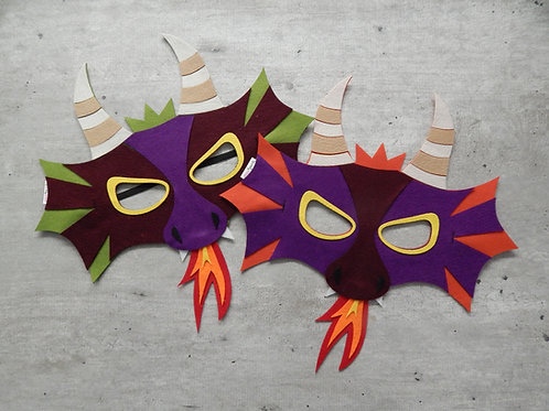 Mascaras de dragao