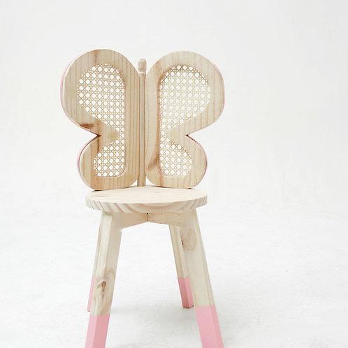 Cadeira borboleta, palhinha indiana.