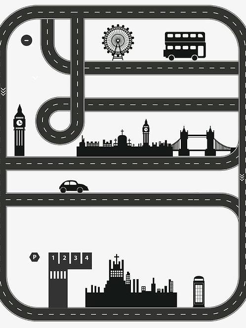 Tapete Londres quadrado