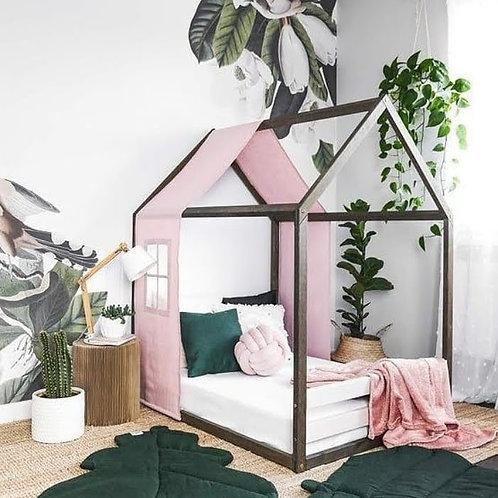 Faixa, capa para cama casinha