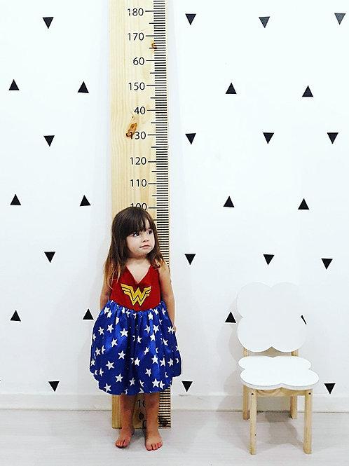 Régua de medida infantil